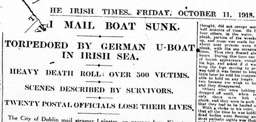 The Irish Times - October 11, 1918